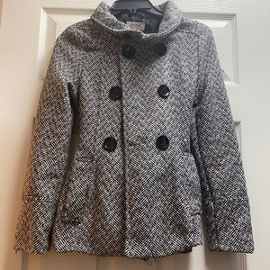 Women's Fashion Plaid Fit Coat